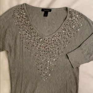 White House Black Market Sequin Sweater Sz Small